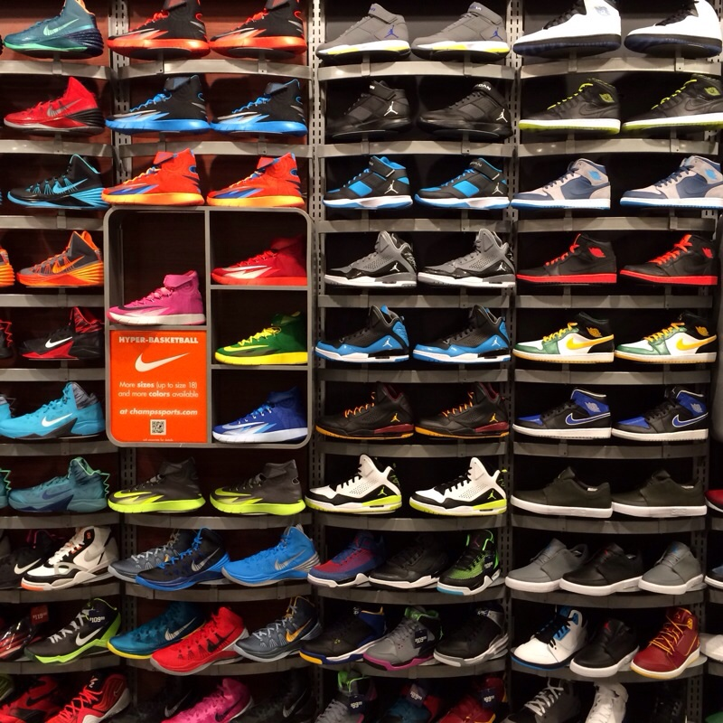Champs Sports Shoes Nike