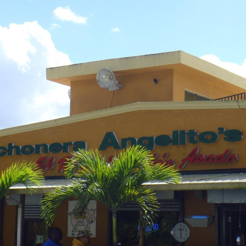 Lechonera Angelitos Place Trujillo Alto Puerto Rico